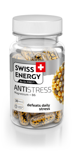 Swiss Energy Antistress Capsules with prolonged release of active ingredients