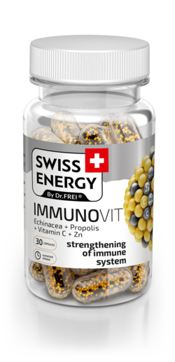 Swiss Energy Immunovit Эхинацея + Прополис + Витамин C + Zn