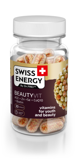 Swiss Energy Beautyvit ACE + Zn + Se + CoQ10 + Биотин