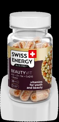 Swiss Energy Beautyvit ACE + Zn + Se + CoQ10 + Біотин