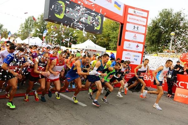 Swiss Energy on the 2nd Zaporizhstal Half Marathon
