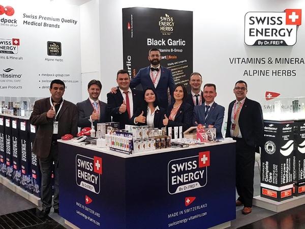 Swiss Energy стала участником медицинской выставки MEDICA 2018