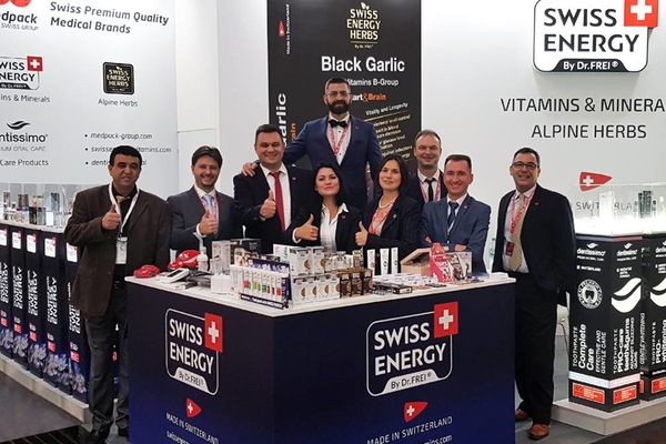 Swiss Energy on the MEDICA 2018 exhibition