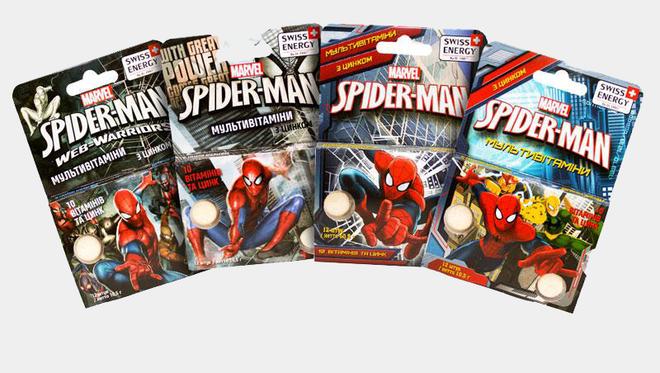 Swiss Energy Multivitamin Spider-Man