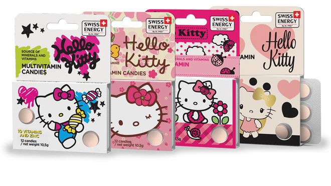 Swiss Energy Multivitamin Hello Kitty